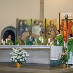 PRIMERA MISSA DE MN. MELCIOR TRÈMOLS I MN. MARC LABORI AL SEMINARI