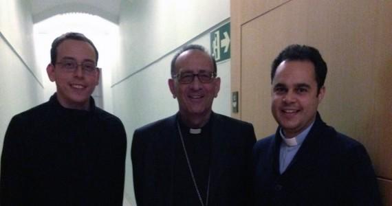 Mons. Omella visita als seminaristes