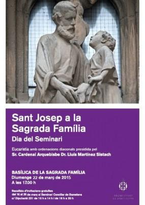 SANT JOSEP A LA SAGRADA FAMILIA