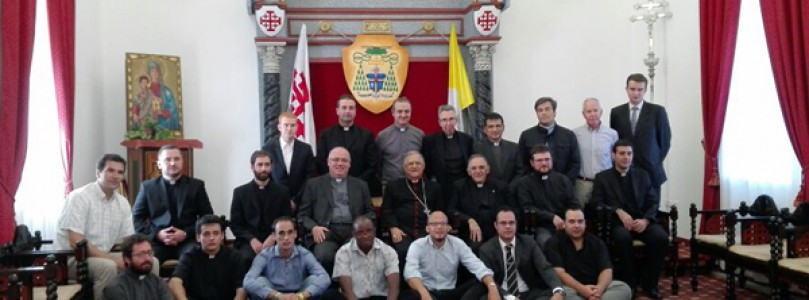 Pelegrinatge a Terra Santa dels joves ordenats i seminaristes del darrer curs a Catalunya