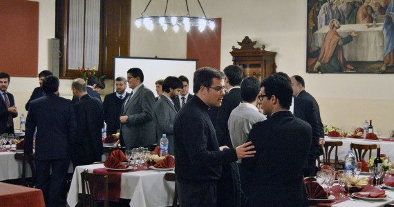 Celebració del Nadal al Seminari