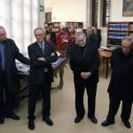 INAUGURACIÓ OFICIAL DE LA REFORMA DELS DIPÒSITS DE LLIBRES DE LA BIBLIOTECA PÚBLICA EPISCOPAL DEL SEMINARI