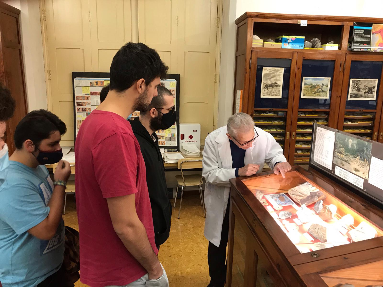 Visita al Museu Geologic del curs propedèutic