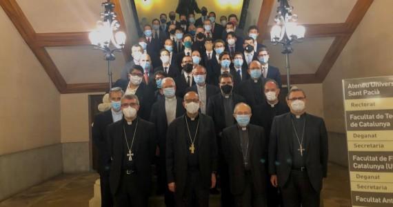 El Seminari Conciliar de Barcelona inicia el curs amb nou equip i vuit nous seminaristes