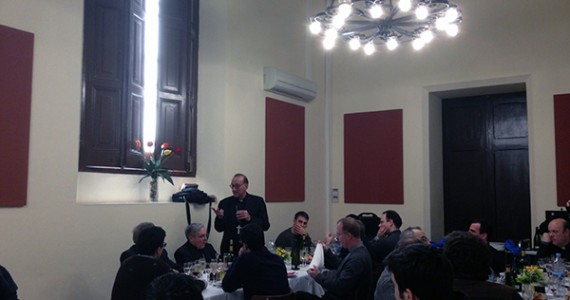 Omella de visita al Seminari de Barcelona